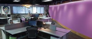 office-purpWall