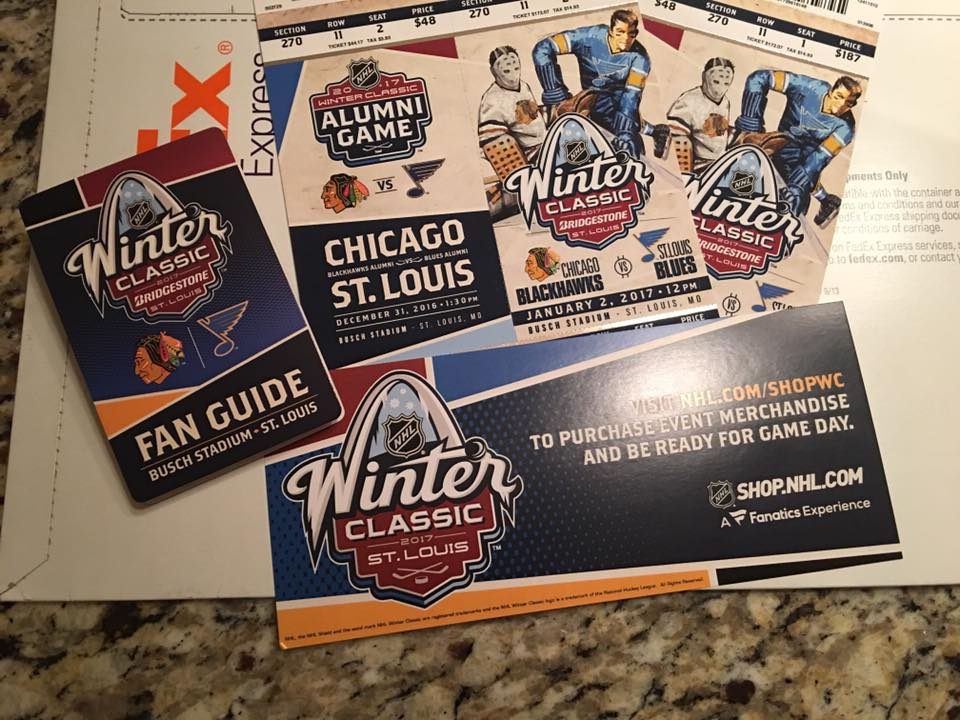 Cory is going to the Winter Classic... and we are all jealous!