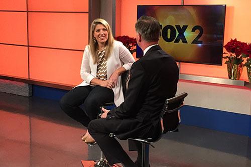 OneSpace CEO, Stephanie Leffler, Interviewed on Fox 2 News