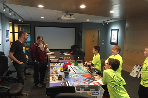 """OneSpace Hosts Local """"FIRST LEGO<sup>®</sup> League"""" Team"""